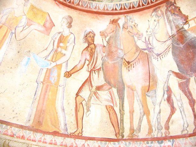800px-Kazanlak-tomb-fresco-1