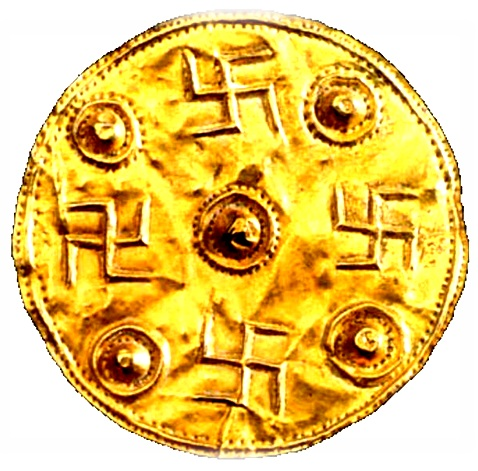 Gold-Disk-Swastikas-Greece