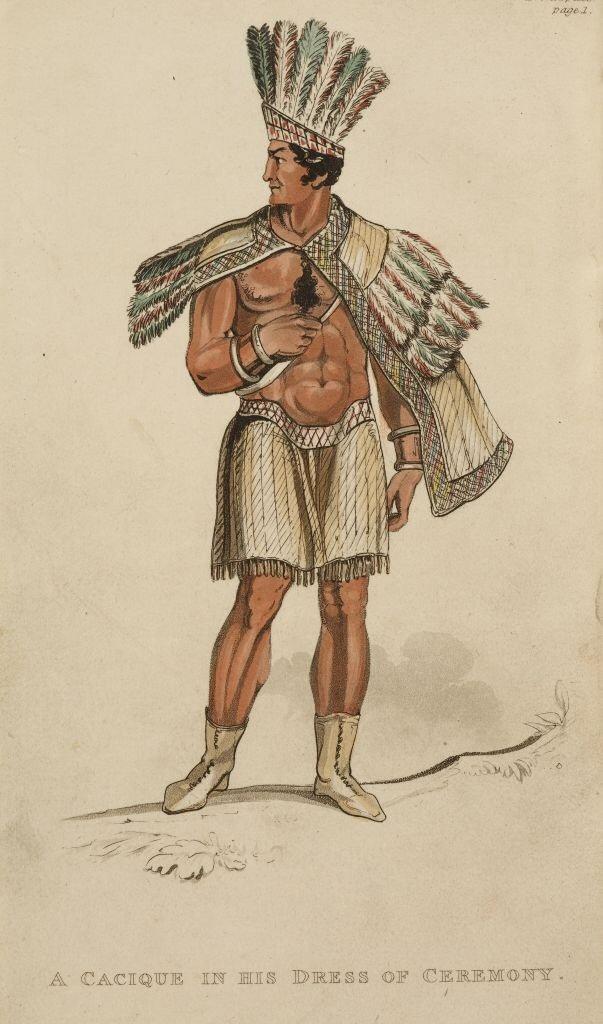 ancient aztec clothing - 603×1024