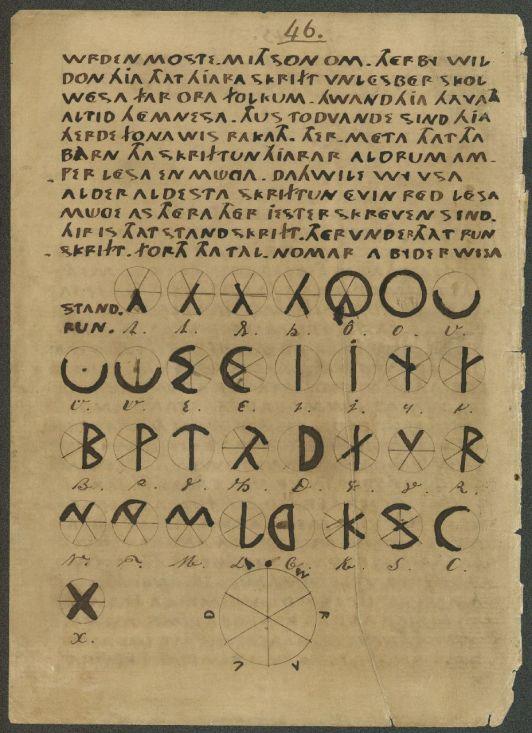 Manuscript - Thet oera Linda Bok - pagina 48