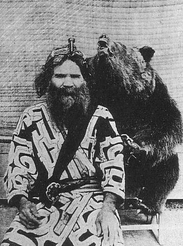 one_ainu_man_and_bear