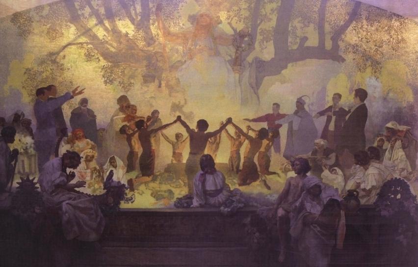 The-Oath-of-Omladina-Under-the-Slavic-Linden-Tree