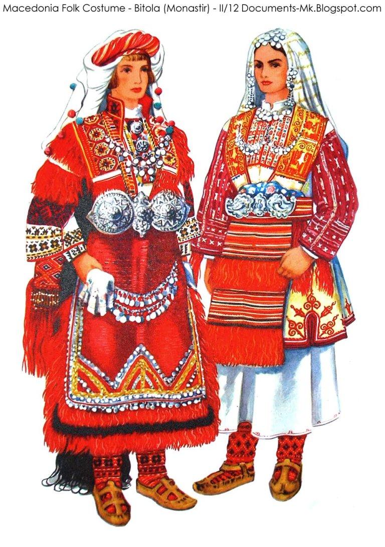 Macedonia Folk Costume Bitola (Monastir) II 12.jpg