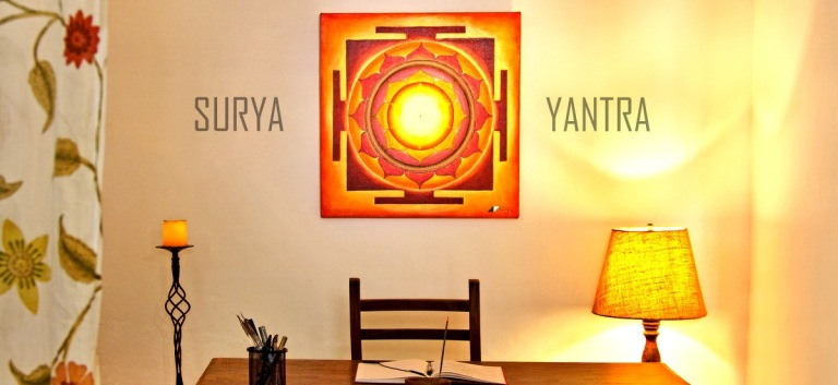 surya-yantra-painting-in-the-office-by-sohel-mehboob