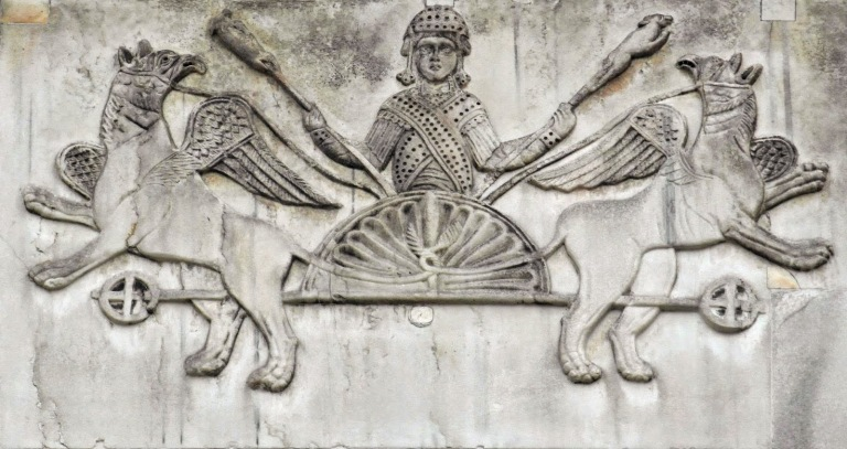 Basilica San Marco Relief of Alexander.JPG